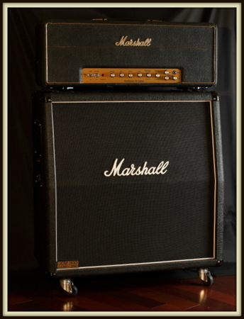 Custom Splawn Modded Marshall 1959 Super Lead Plexi (1959SLP) Head & Custom 1960A Cab  (Celestion Vintage 30 & Celestion G12H-30)