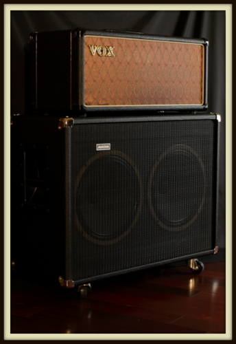 Vox AC30 CCH Head & Avatar G212H Custom (Celestion Greenback & Celestion G12H-30) Custom Cab Wired for 4/8 Stereo/16 ohms